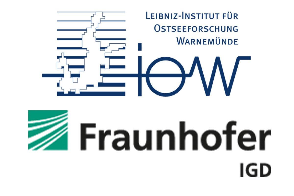 Logo Fraunhofer Institut und Leibniz-Institut für Ostseeforschung